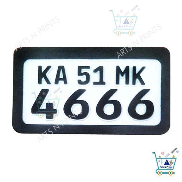 German number plate protective frame online in India