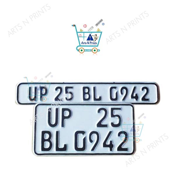German number Plates for bike