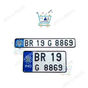 2wheeler number plate manufacturer in india