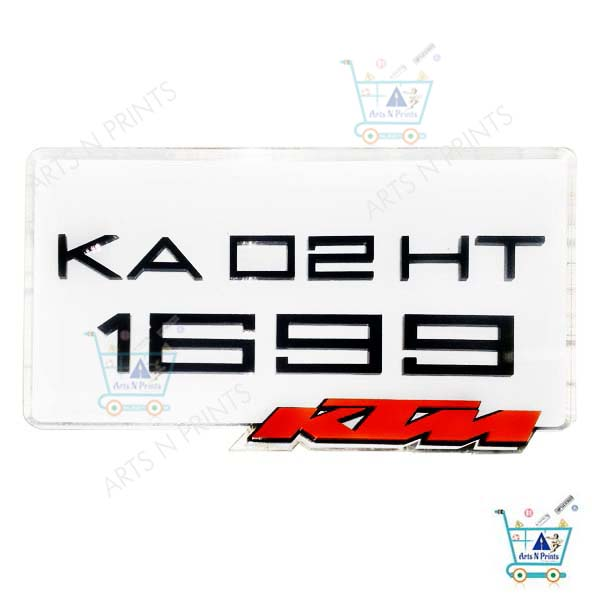 ktm duke BEST number plate factory